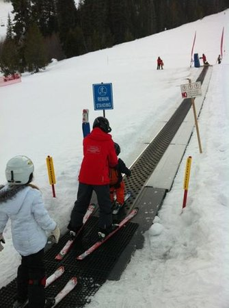 Homewood Mountain Resort : love the Magic Carpet