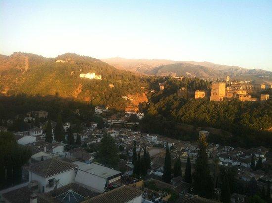 Apartamentos Abulaci : Atardecer desde San Nicolas