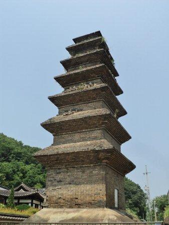 Sinsedong Chilcheung Jeontap (Sinsedong 7 stories Brick Pagoda)