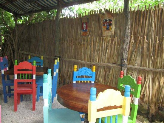 Hostel Candelaria: dinning area