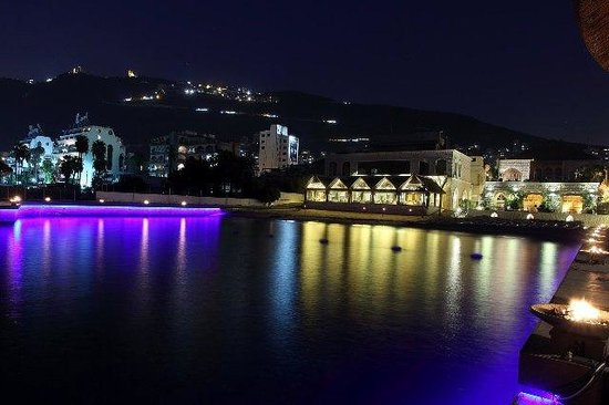 Table Fine:                                     view at night