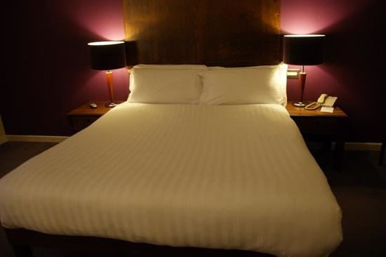 Hotel Kilkenny: Very comfortable bed