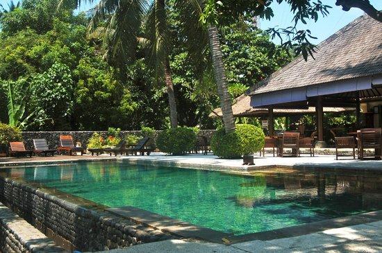 Mimpi Resort Tulamben: Outdoor view.