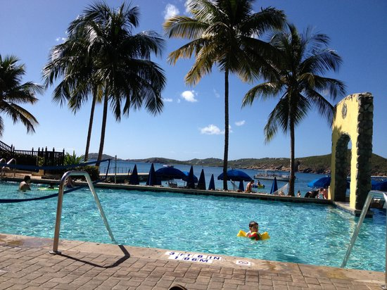 Marriott's Frenchman's Cove:                   Poolside