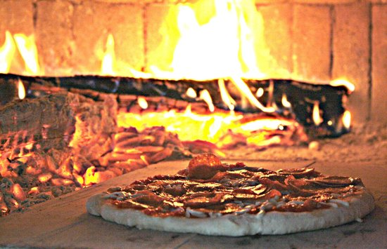 Charlie's Place:                   Woodfire smoked pizza...delicious!!!!