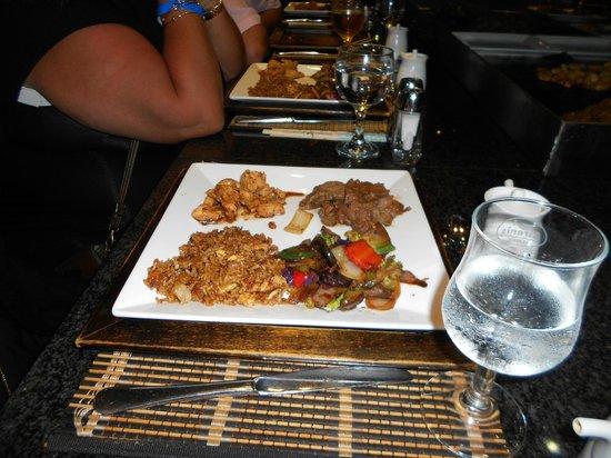 Sirenis Punta Cana Resort Casino & Aquagames: resto japonais