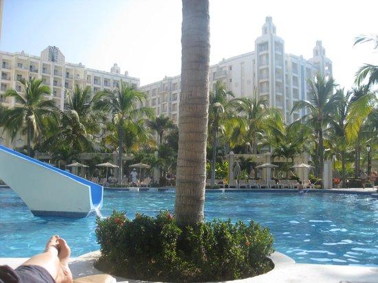 Hotel Riu Vallarta:                   One of the beautiful large pools