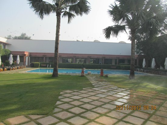Trident, Agra:                   Pool View