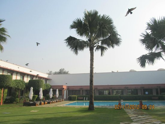 Trident, Agra:                   View from rrom