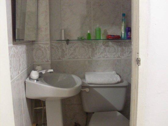 Hotel & Spa Molicie: Las cositas verdes (jabón de manos, antibacterial, jabón) las enciman con el cuarto.