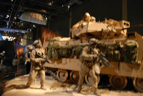 National Infantry Museum and Soldier Center:                   A glimps of their fighting!