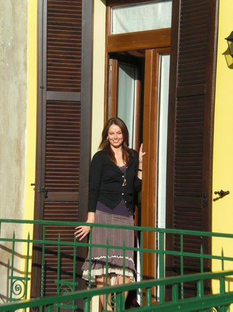 Alessandro on the front terrace - Picture of B&B 2 Terrazze ...