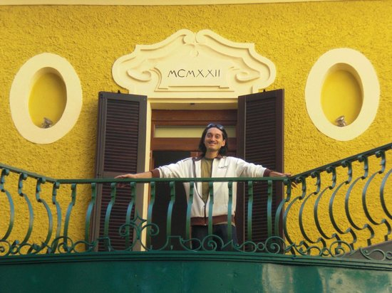 Alessandro on the front terrace - Picture of B&B 2 Terrazze, Verona ...