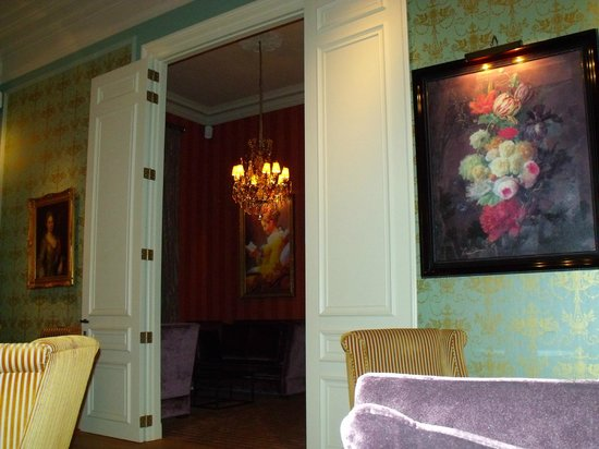 Grand Hotel Casselbergh: Lounge area