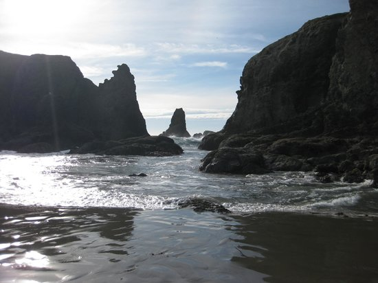 Bandon Inn: The beach near by