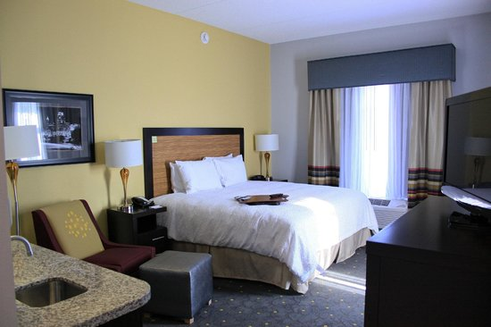 Hampton Inn & Suites Raleigh Downtown: Enjoy a relaxing stay in Downtown Raleigh