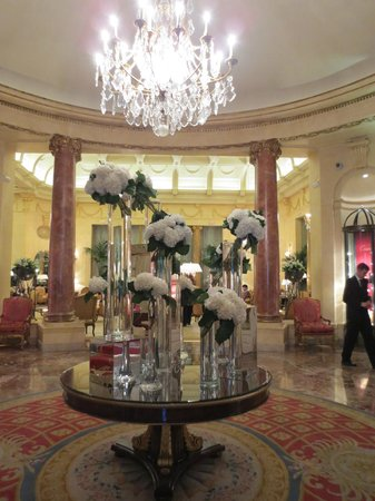 Hotel Ritz, Madrid:                   Lobby....