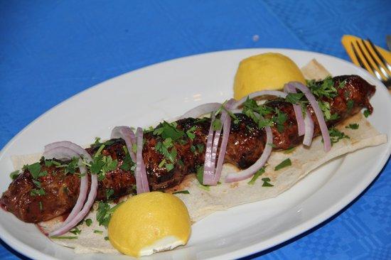 Alexandroupoli, Griechenland: grilled liver