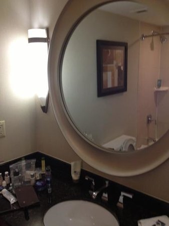DoubleTree by Hilton Hotel Downtown Wilmington - Legal District: Bathroom