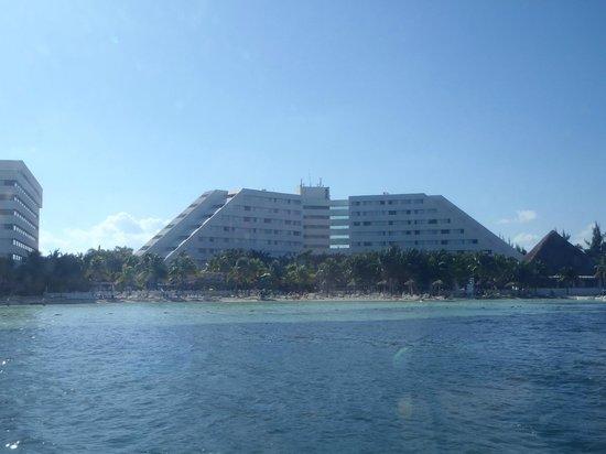 Oasis Palm:                   vista do mar
