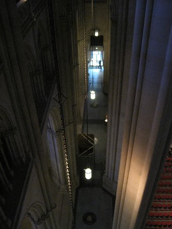 Cathedral Church of Saint John the Divine: About 120 feet up