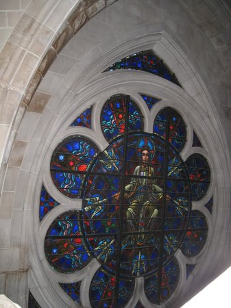 Cathedral Church of Saint John the Divine: It was great to see some of the details up close on the vertical tour