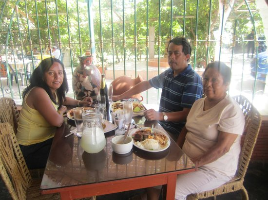 Hotel Sol de Ica: Almorzando riquisimo