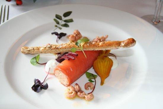 Hotel Endsleigh:                   Delicious starter