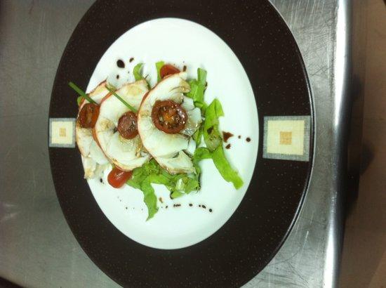 Royalton Cayo Santa Maria: Lobster apetizer/Entrée de langouste