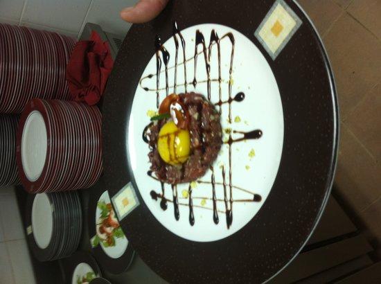 Royalton Cayo Santa Maria: Steak Tartare