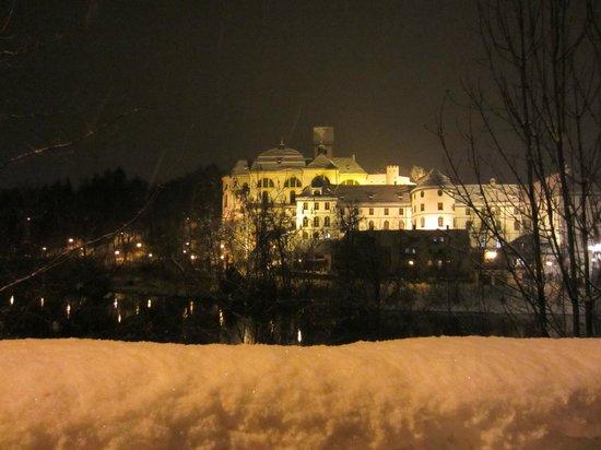 Altstadt von Fuessen: Panorámica del Monasterio de San Mang