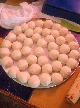 El Charro:                   Perfect dough for the tortillas.