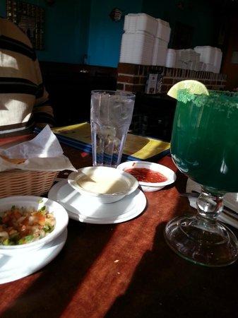 Los Cabos: BLUE margarita