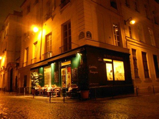 Le Bon Saint Pourcain:                   a fachada