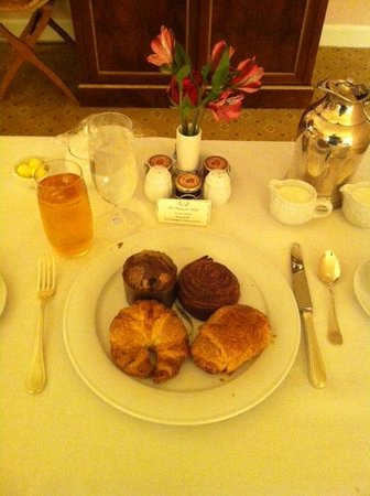 The Westgate Hotel:                   Eurocontinental Breakfast