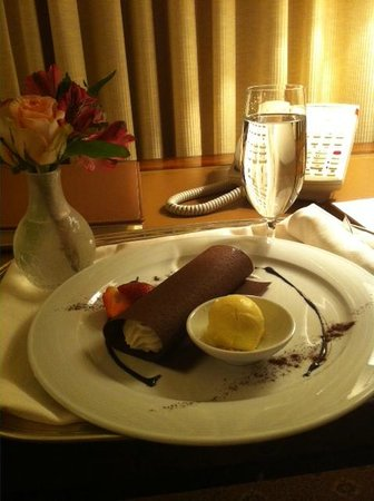 The Westgate Hotel:                   Tiramisu - Late night snack
