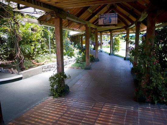 Hotel Posada de Don Rodrigo Panajachel: Corredor