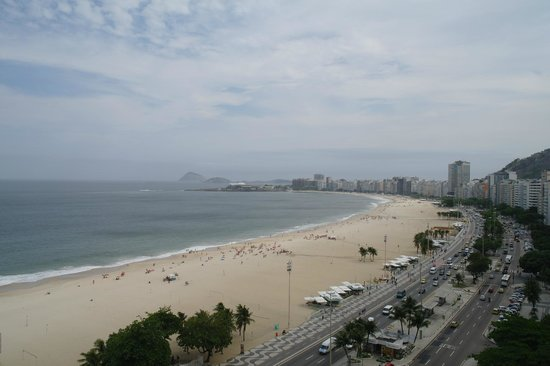 Arena Copacabana Hotel: View from the suite