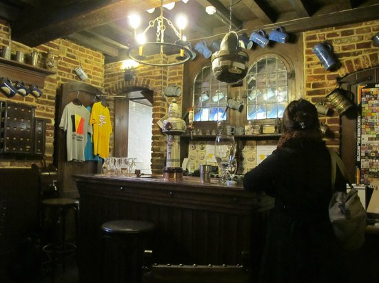 Museum of the Belgian Brewers : Cozy Bar