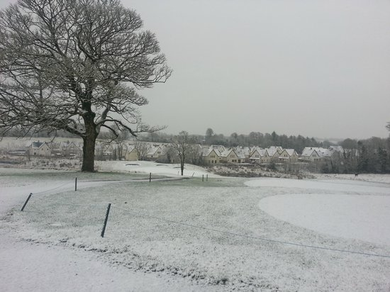 Castle Dargan:                   Winter view