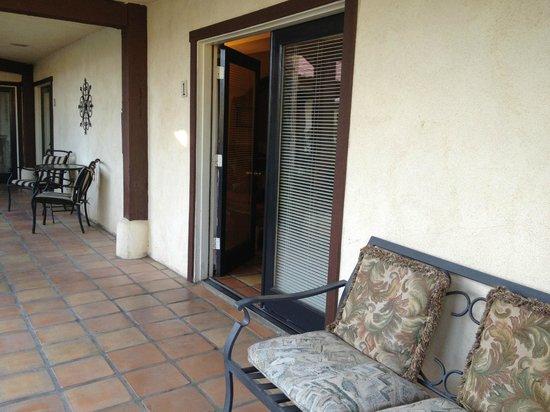 La Maison Hotel:                   Room Entrance
