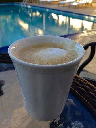 La Maison Hotel:                   Best Cappuccino in town!