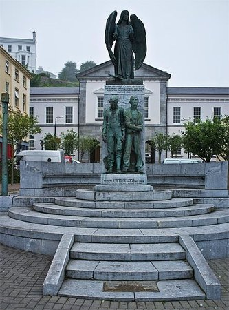 Cobh Heritage Centre: Lusitania Memorial a short distance from the Heritage Centre