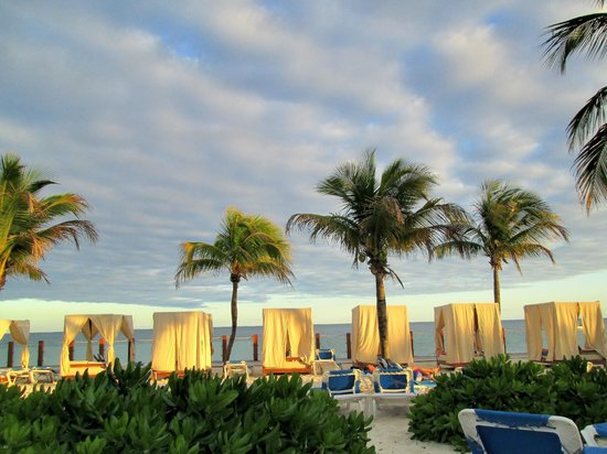 Ocean Maya Royale:                   Beautiful night