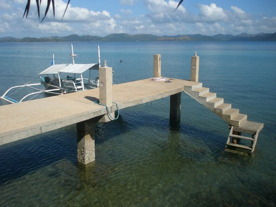 Chindonan Dive Resort: Pier