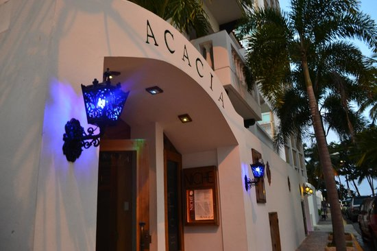Acacia Boutique Hotel:                   FRONT OF HOTEL