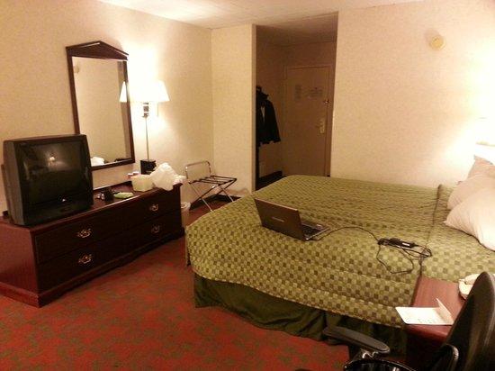 Best Western Plus Poconos Hotel :                   Bedroom