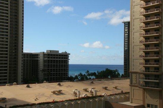 Aqua Palms Waikiki: Meerblick