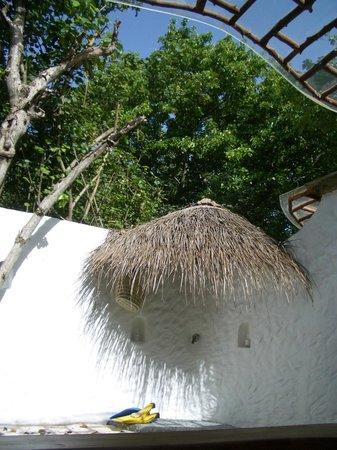 Soneva Fushi Resort:                   Shower al Fresco