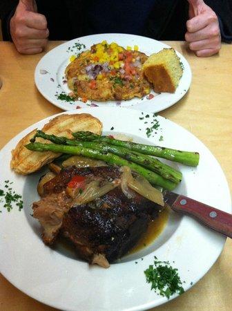 Kuba-Kuba:                   Dinner!